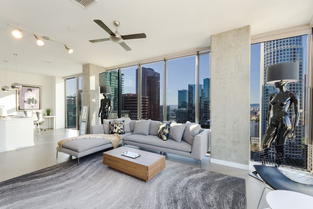 penthouse living room dtla top level penthouse 4 beds flats for rent 11025
