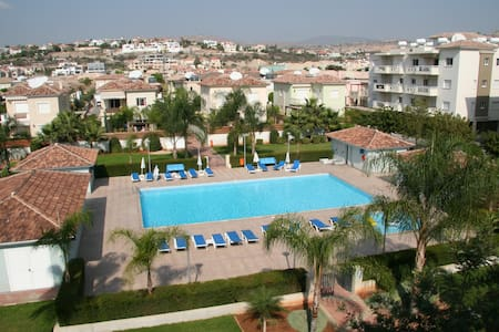 Luxury Top Floor Apartment opposite the Beach - Germasogeia