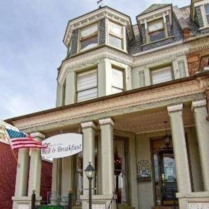 The Freemason Inn, built in the 1890's, is central to music, food and entertainment in Downtown Norfolk.