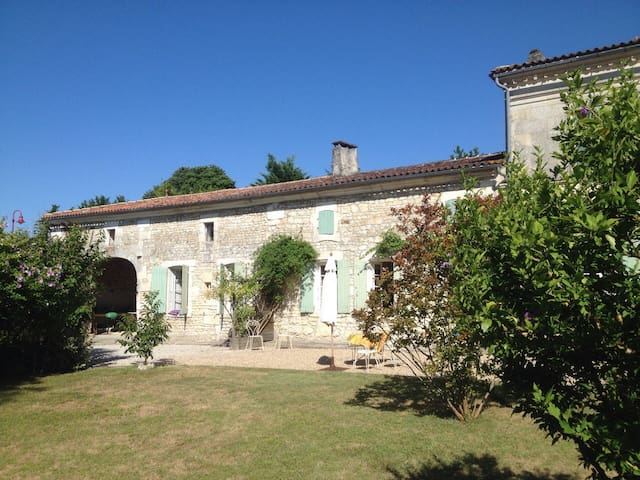 GITE in 19th C French Country house - Saint-Léger - Apartamento