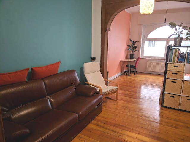 Cozy apartment only 10 min from Gare Centrale