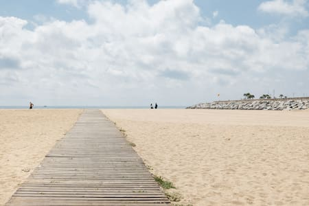 25 KM from Barcelona 100 meters from the beach - Mataró