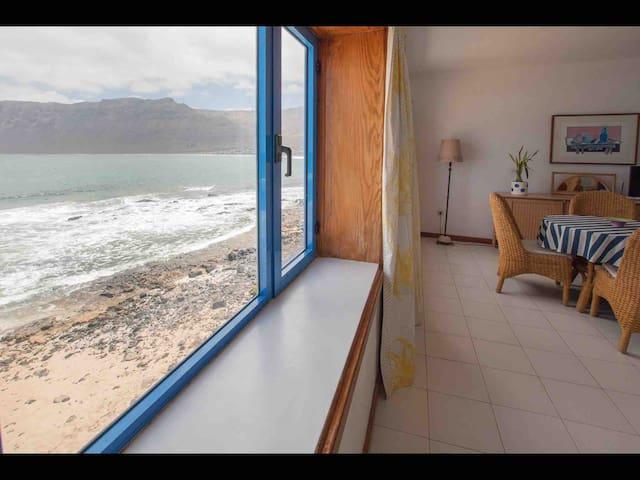 Casa del Risco - frente al mar