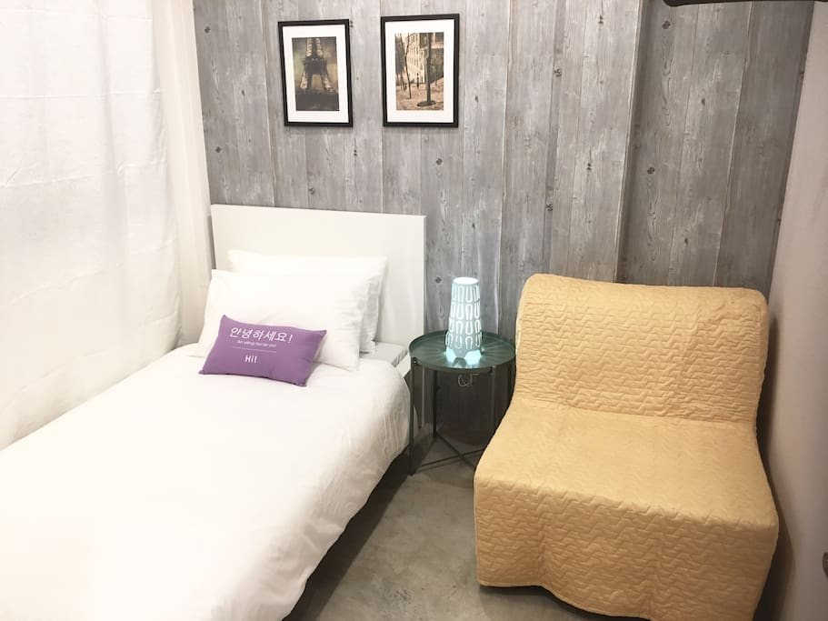 Single Room & Single Sofa Bed With Window