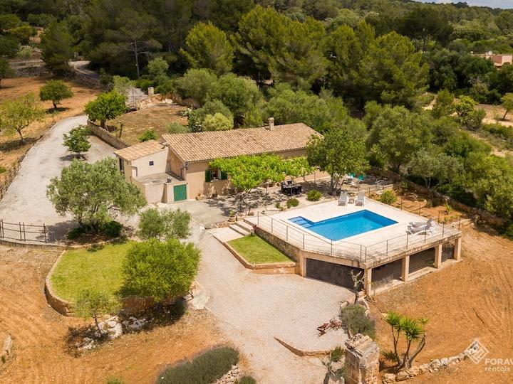Son Fornes - Finca with pool and garden in Algaida
