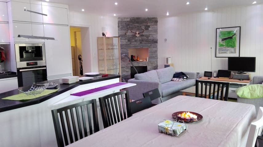 Cosy 2 bedroom apartment close to city center - Bergen - Appartement