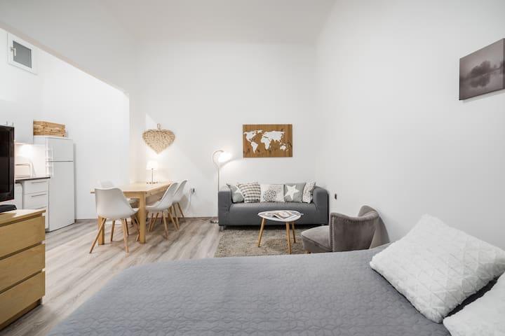 Stylish-minimal dream STUDIO  on the calm hillside