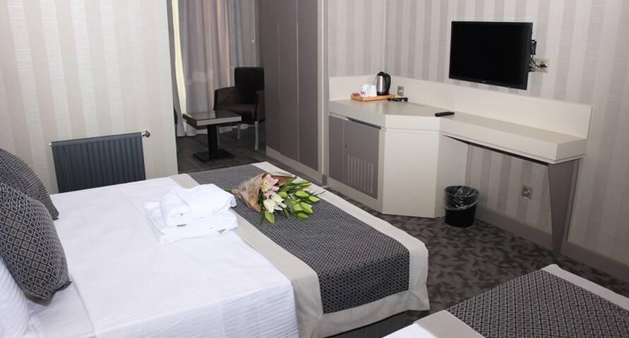 Anka Premium Hotel - Üç Kişilik Oda