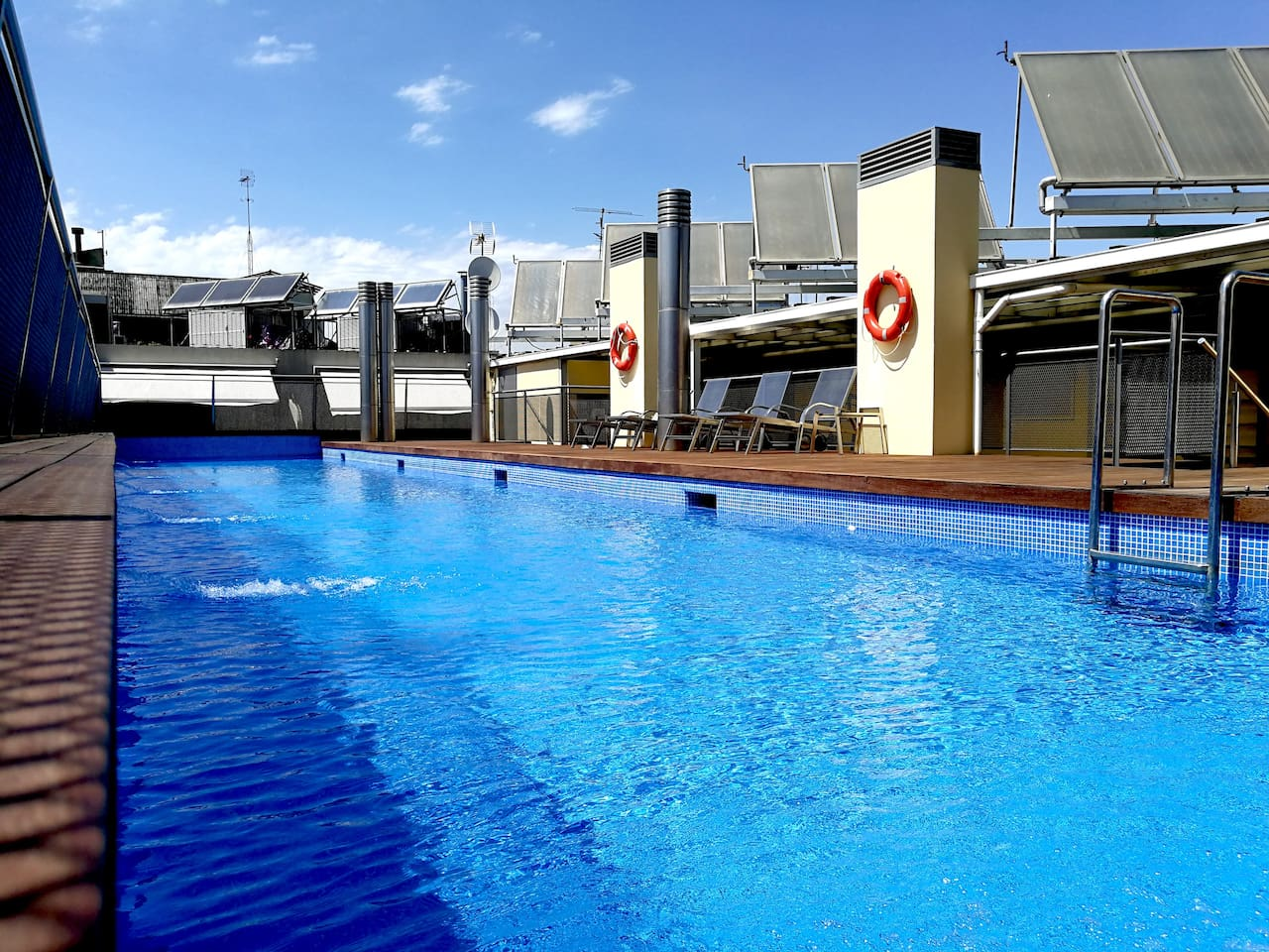 Sunny Swimming Pool