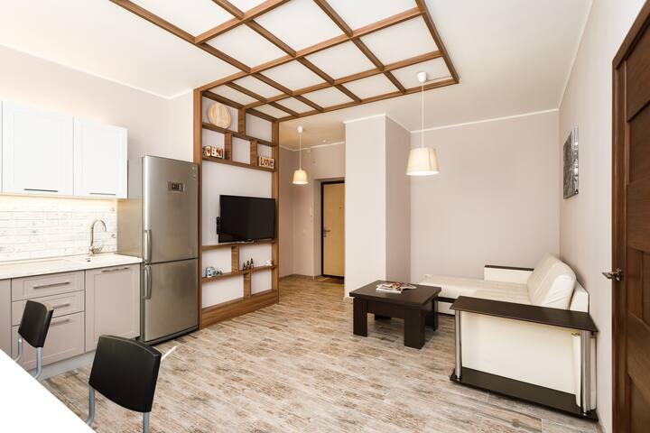 Стильная Квартира в ЖК «Крылов» Центр Города