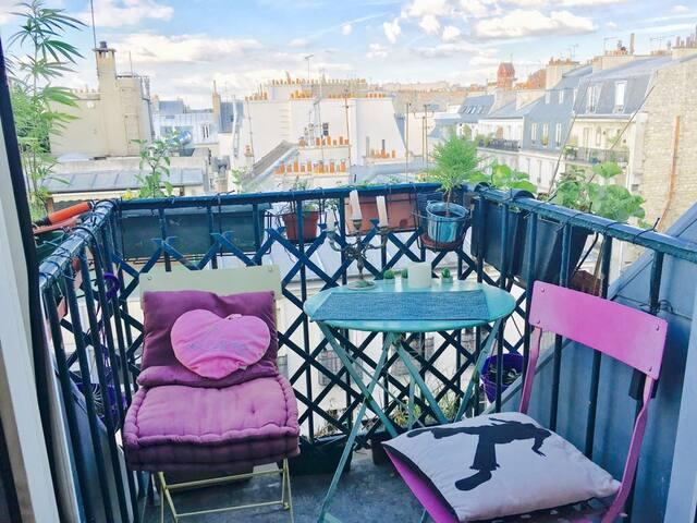 Studio at Montmartre