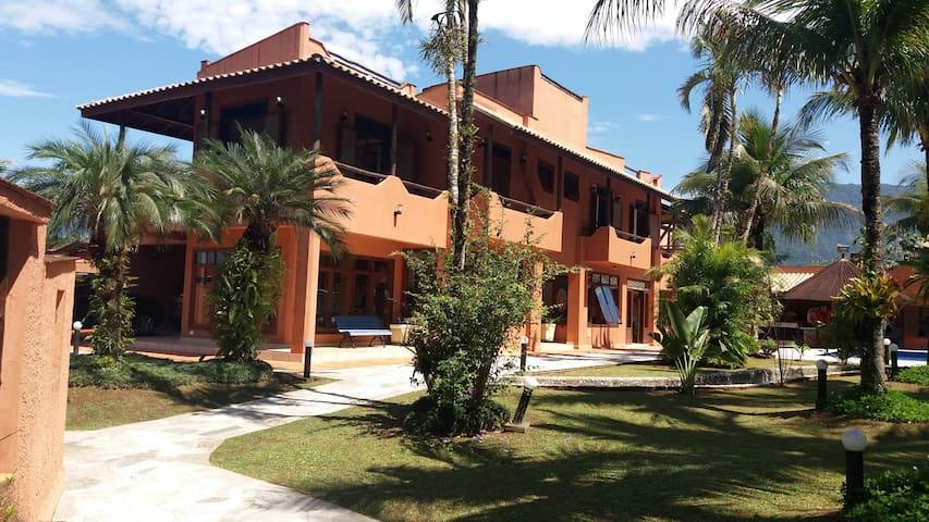 Casa Inteira Morada da Praia Cond.Fechado Bertioga