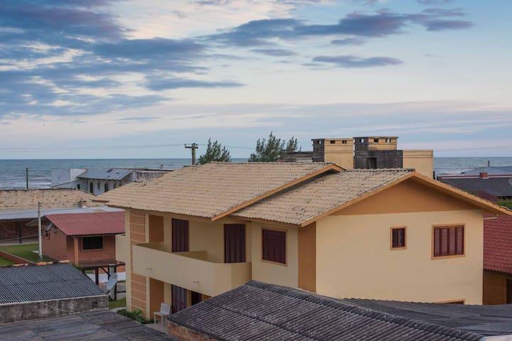 Apto. 01 - Térreo - Frente - Capão da Canoa - Apartment