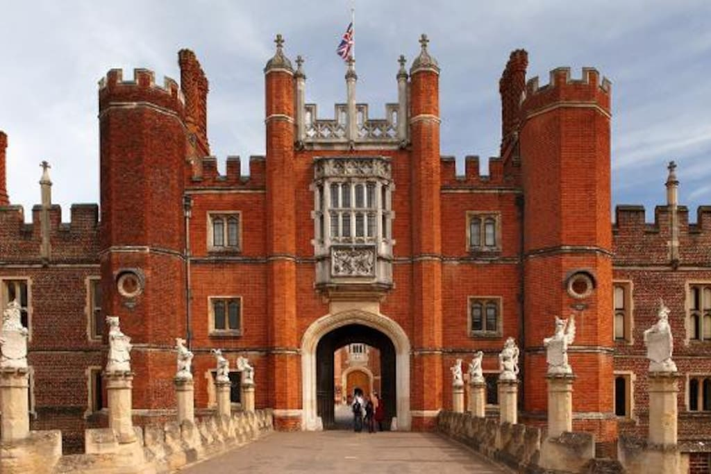 Hampton Court a great place to visit, during your stay.