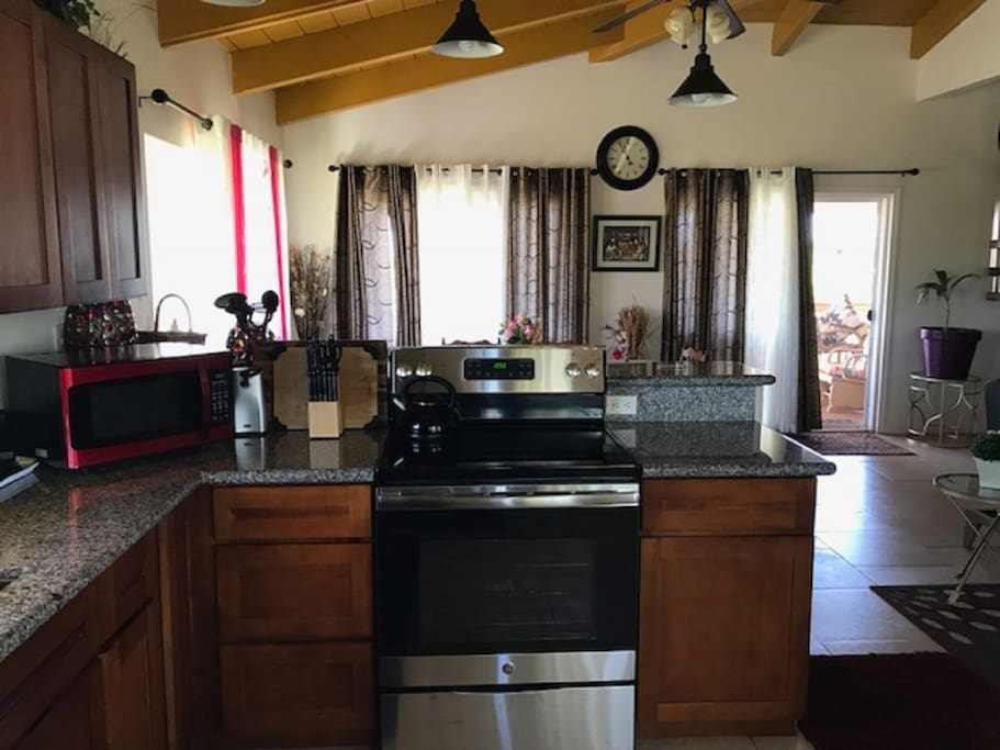 Kitchen w/ several new amenities