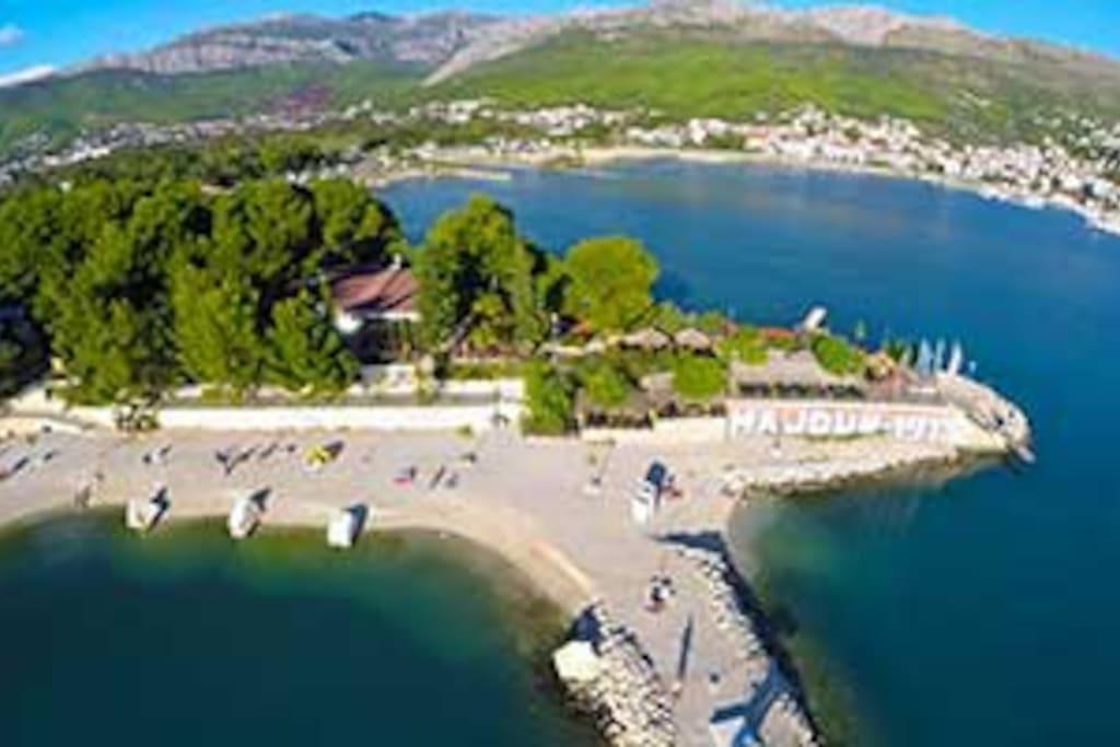 Stobreč - beautiful untouched  part of Split