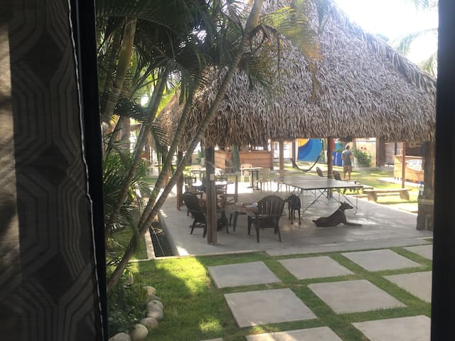 San Carlos Surf Resort (Double twin bed suite)