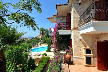Ottoman Villa with Seaview Pool and Seaplatform