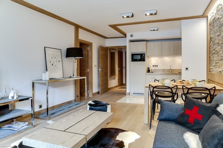 Carré Blanc 243: 3 rooms with contemporary atmosphere