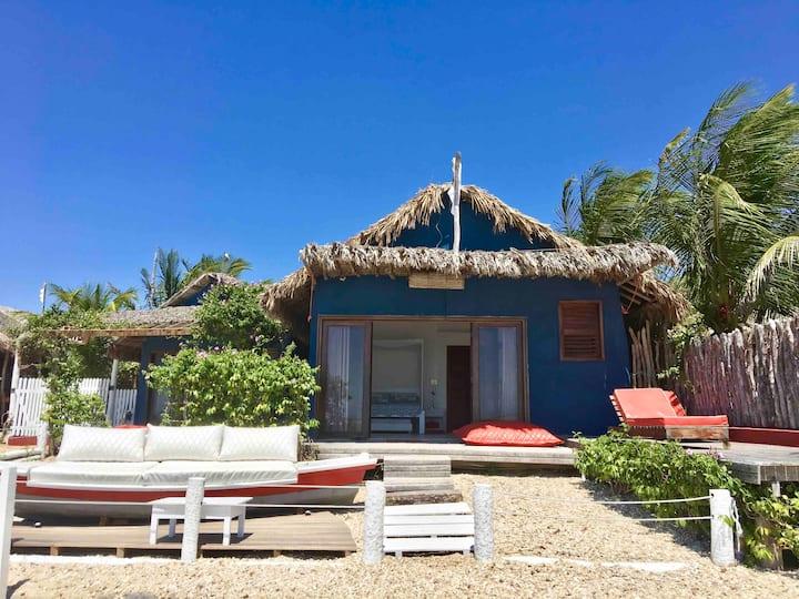 Vila Kite 1 - chalé tipo estúdio de frente pro mar