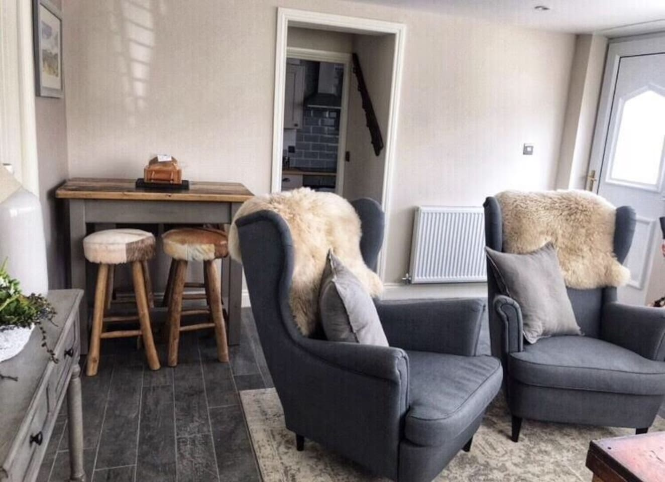 Relax in stylish comfortable surroundings