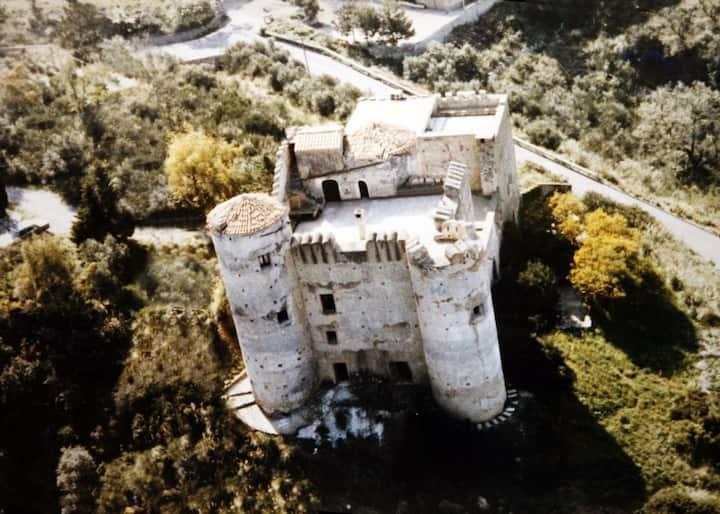 Castello della Foresta del XII  con vista mare
