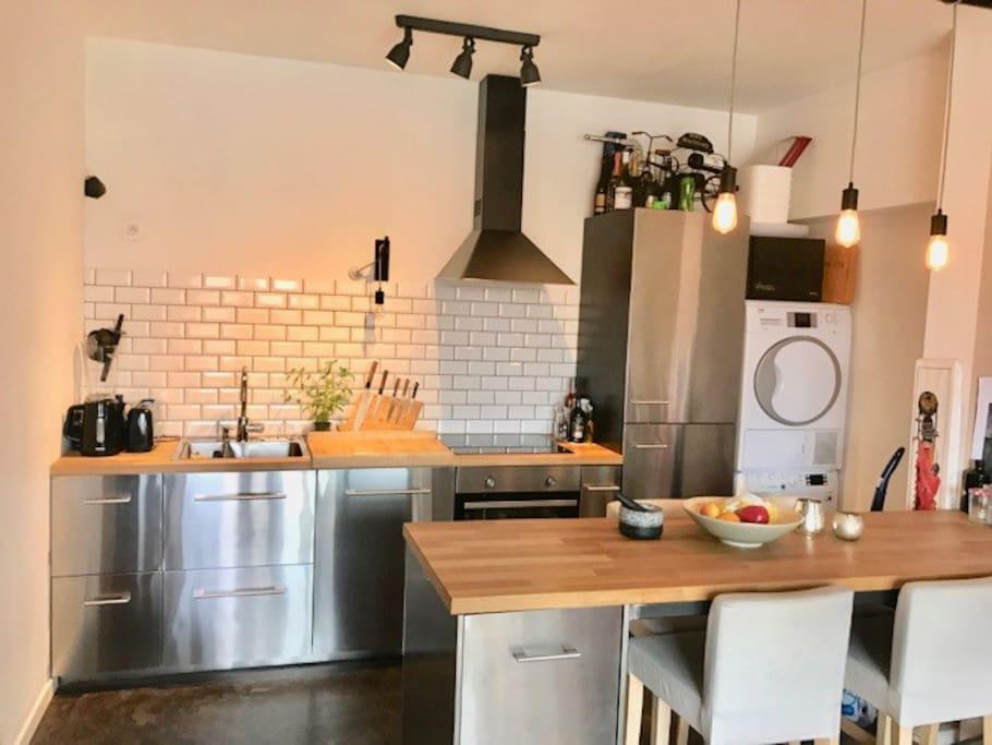 Super Equipped kitchen