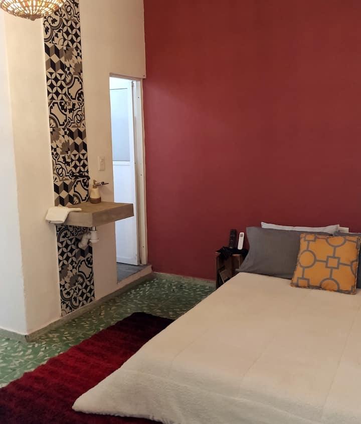 Acogedora Suite Tabscoob en casa Dorita :)