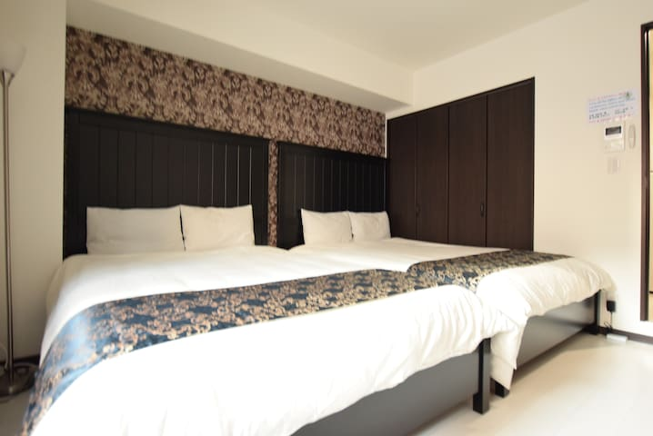 10min walk from the station! A fancy room! Room101