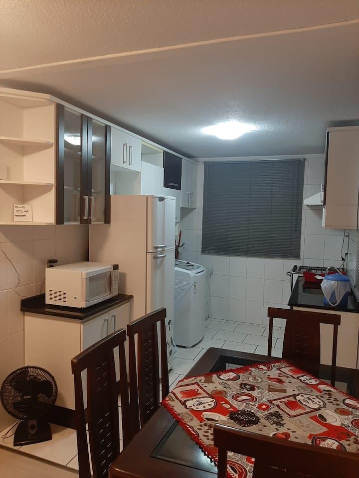Apartamento inteiro com 2 quartos no igara 3
