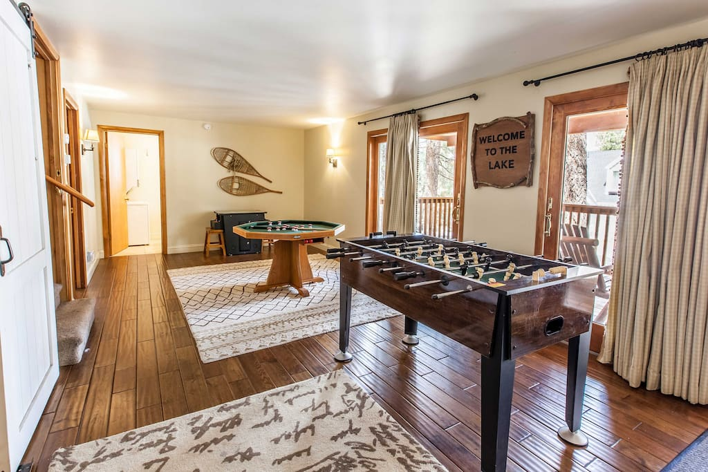 This 4-bed, 2-bath vacation rental house sleeps 11 travelers.