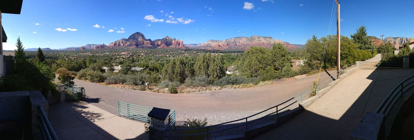 Sedona Home with a view