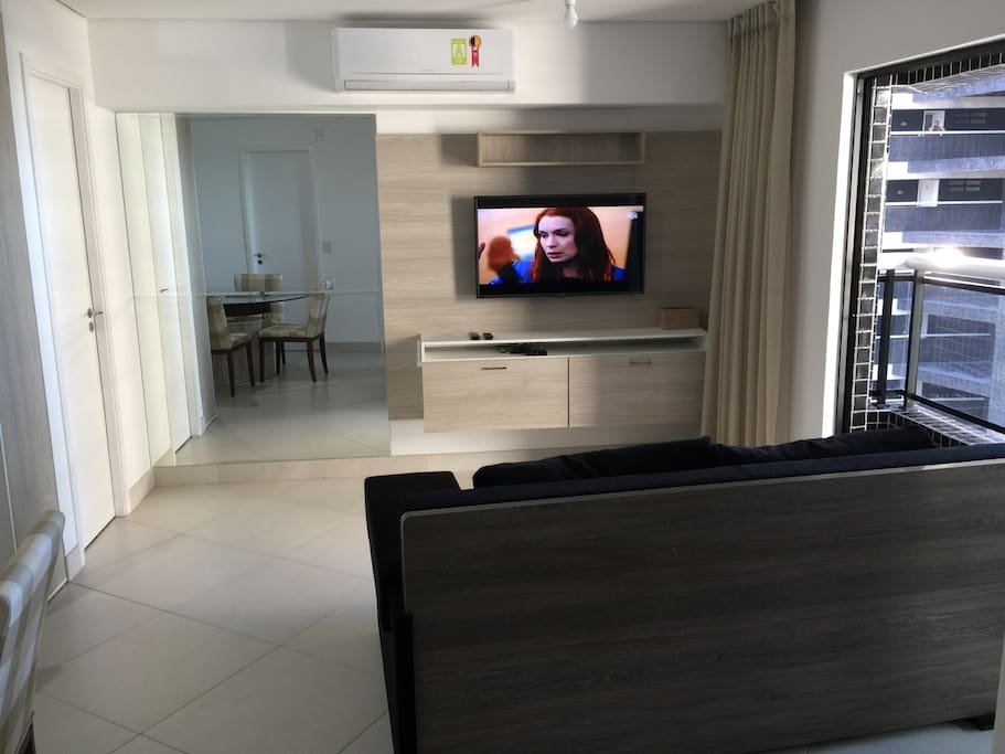 Sofa / Tv Smart / Split da Sala