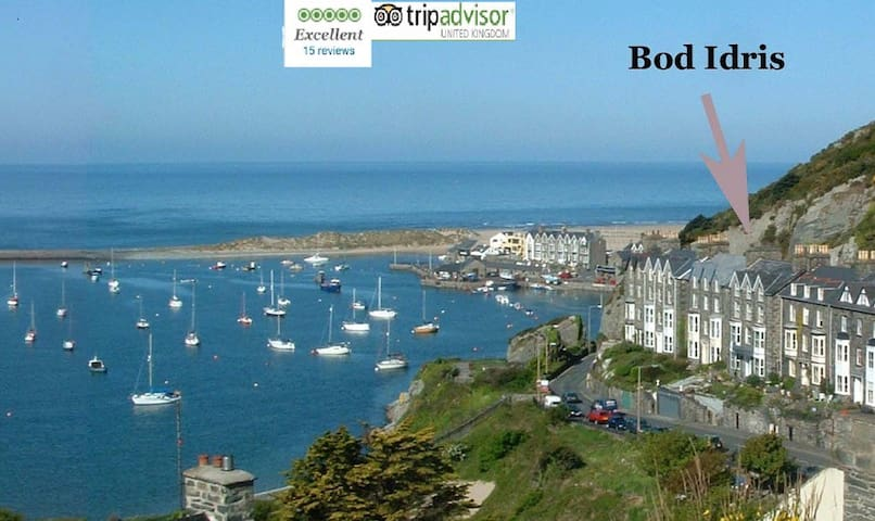 Top Flat, Bod Idris - Barmouth - Departamento