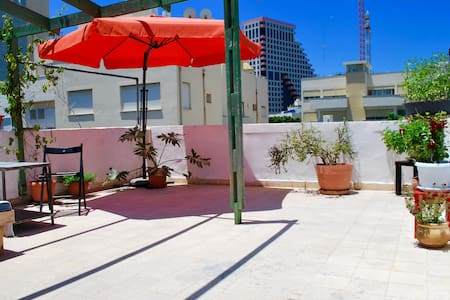Private Rooftop Terrace / Beach Front /City Center - Tel Aviv-Yafo - Wohnung