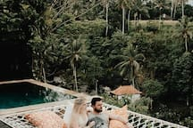 """Allie, Airbnb On-Line Guest Review:  """"...The views were unreal...we had to pinch ourselves several times while we were there. It was impossible to unhappy at Cella Bella. The staff were beyond a 5 star service..."""""""