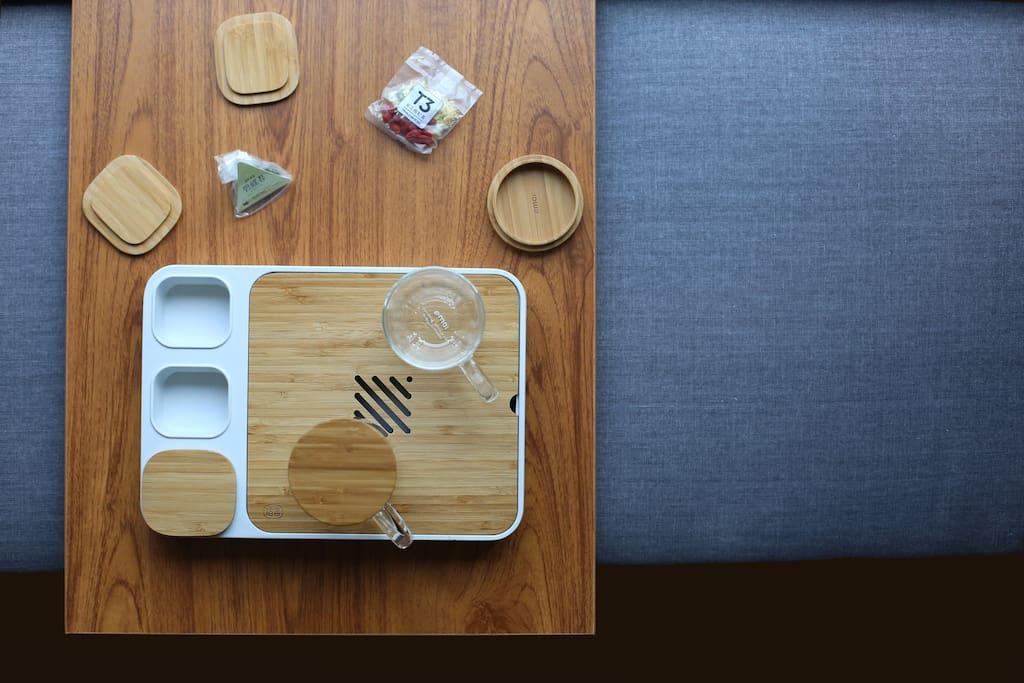 写意泡茶空间配备