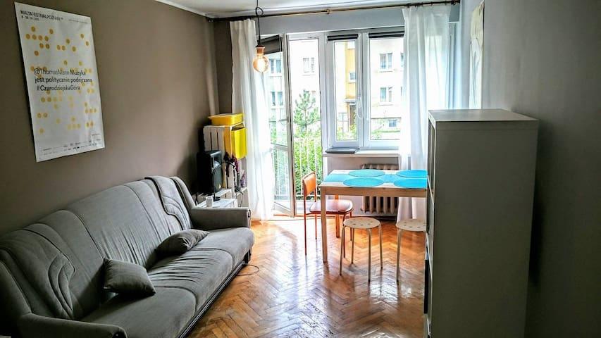 Jasny pokój blisko centrum Poznań Winogrady