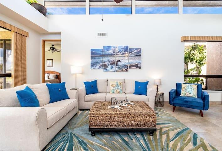 Bay Club Waikoloa 621.   Hilton Waikoloa Pool Pass Included thru 2020