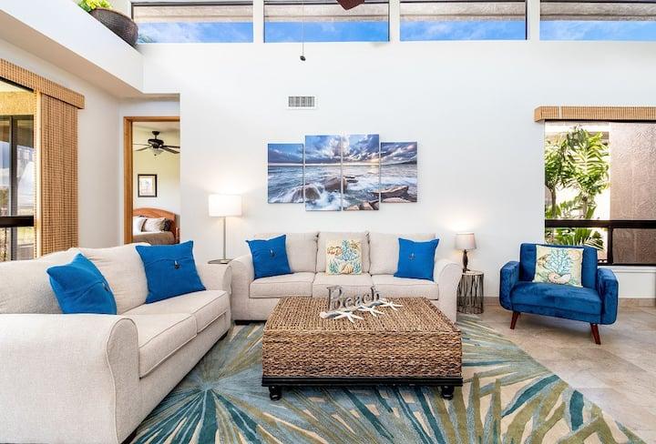 Bay Club Waikoloa 621.  Hilton Waikoloa Pool Pass Included for stays between Feb 1-Dec 31, 2021  Includes beach gear!