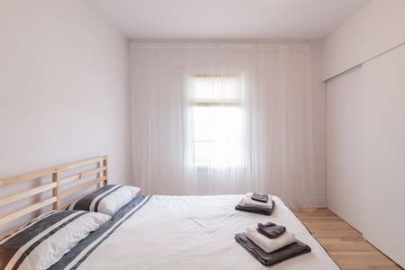 At home in this renovated 2 bedroom appartement - Lägenhet
