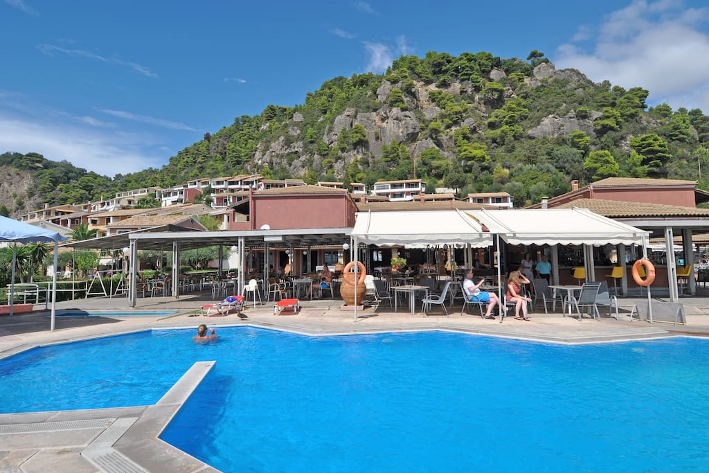 Children pool belonging to Menigos resort. Only for children!!