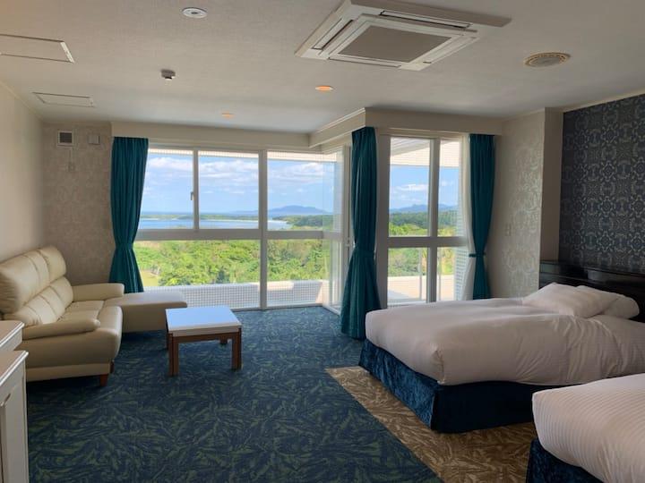 川平湾を見おろす絶景の宿 ホテル海邦川平 203号室   Overview Kabira-bay