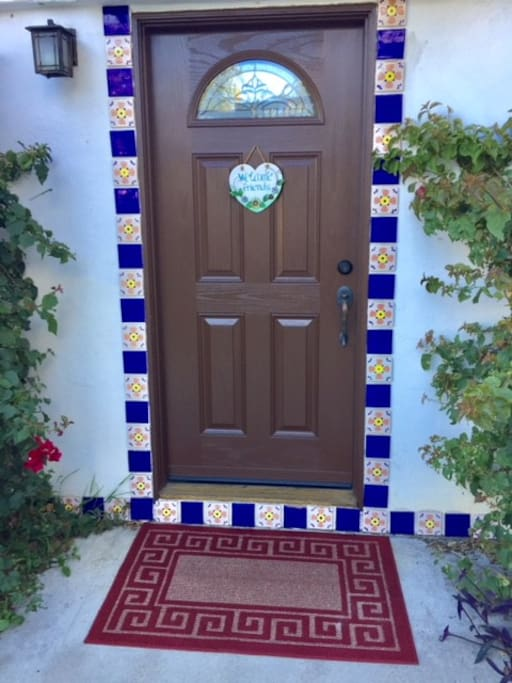 Airbnb Private Entry Door