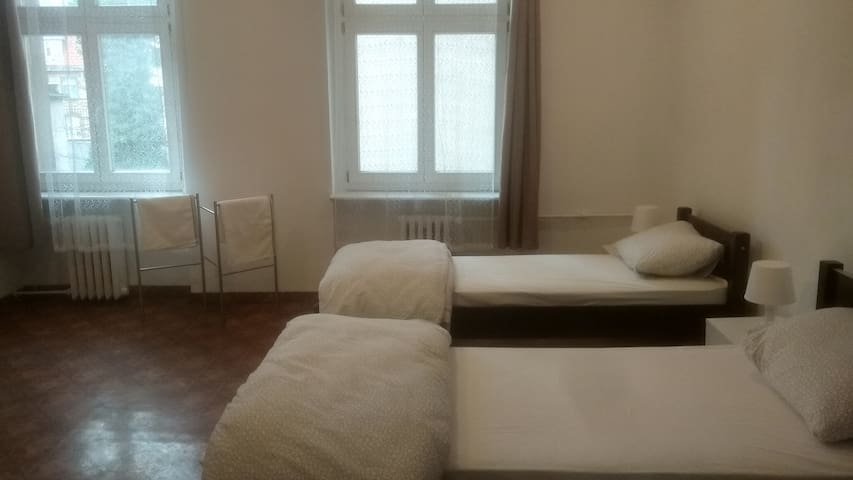 Centrum, No Fees, Clean, Private Room-1, Kartell