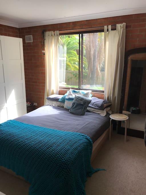 Main Bedroom, has TV with Chromecast