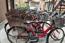 전동자전거 보유하고 있어요