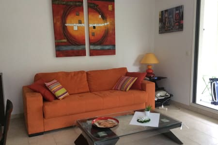 Appartement 2 pièces résidence - Juan les pins - Lejlighedskompleks