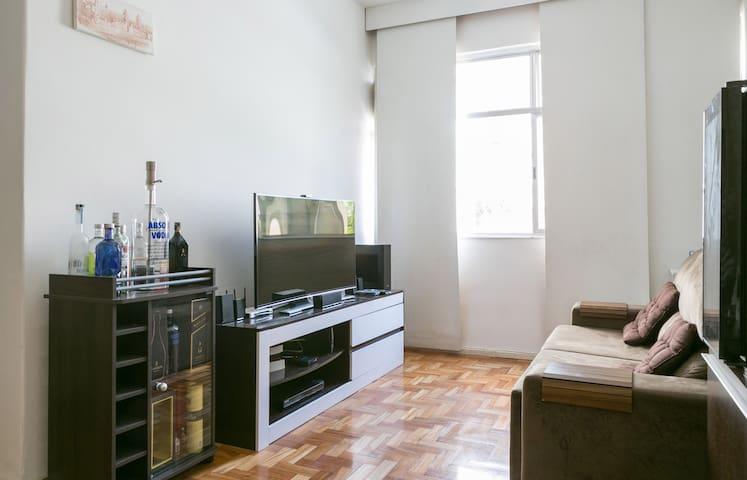 Quarto no Flamengo ao lado do Metrô - Rio de Janeiro - Lägenhet