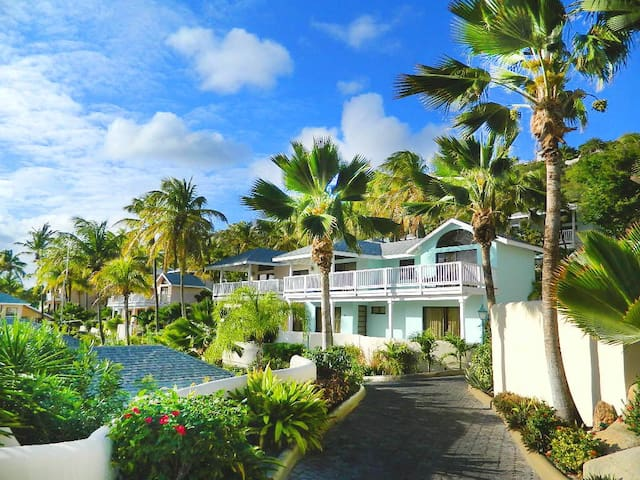 Private villa within St.James's Club Resort